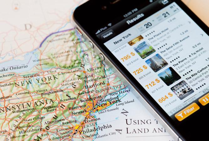 Aplicativos facilitam planejamento e roteiros de viagens