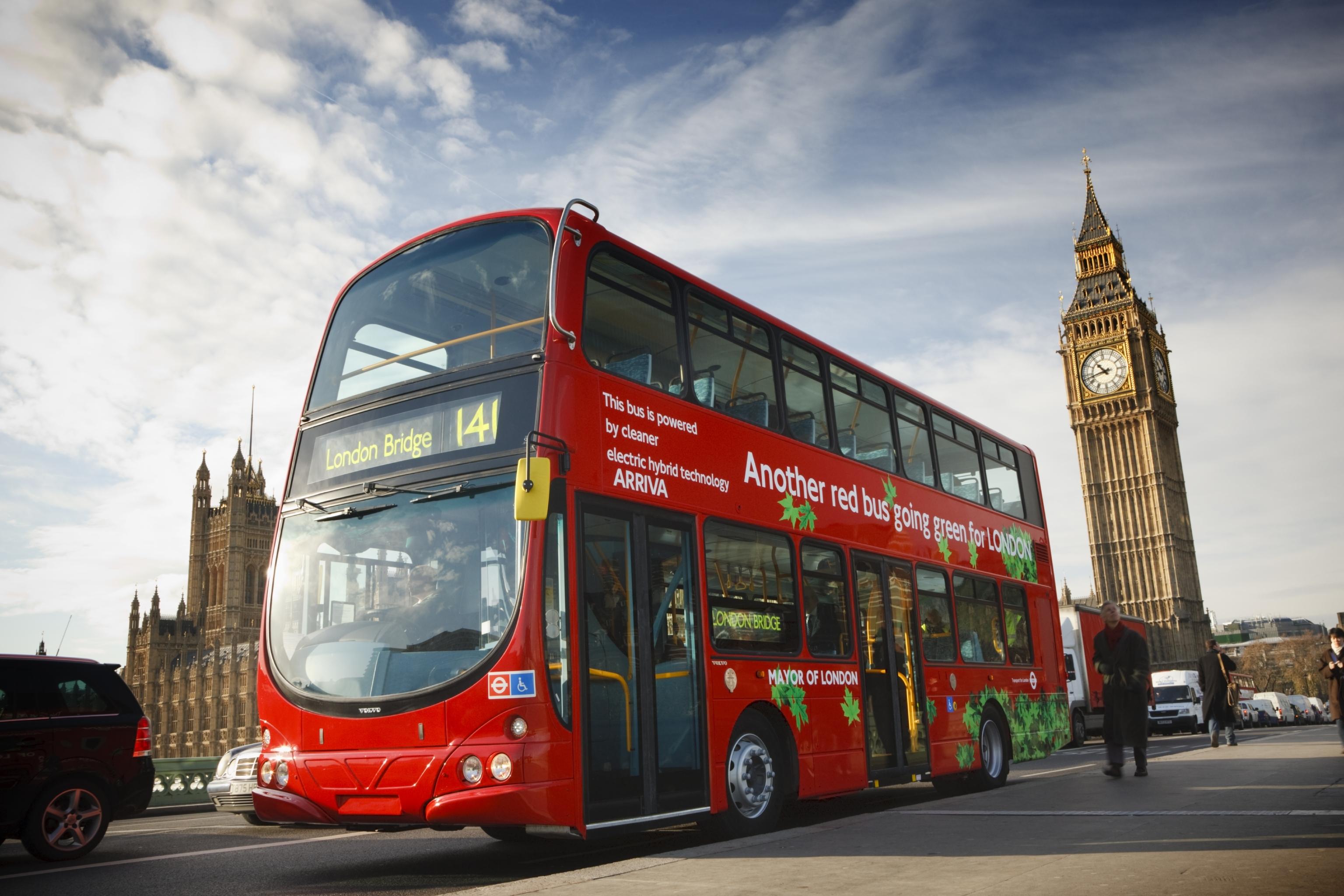 Ônibus londrinos ganharão combustível à base de café