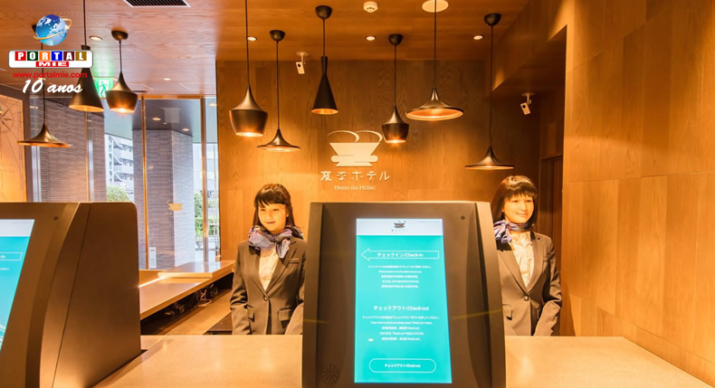 Empresa planeja abrir mais 8 hotéis operados por robôs em todo o Japão