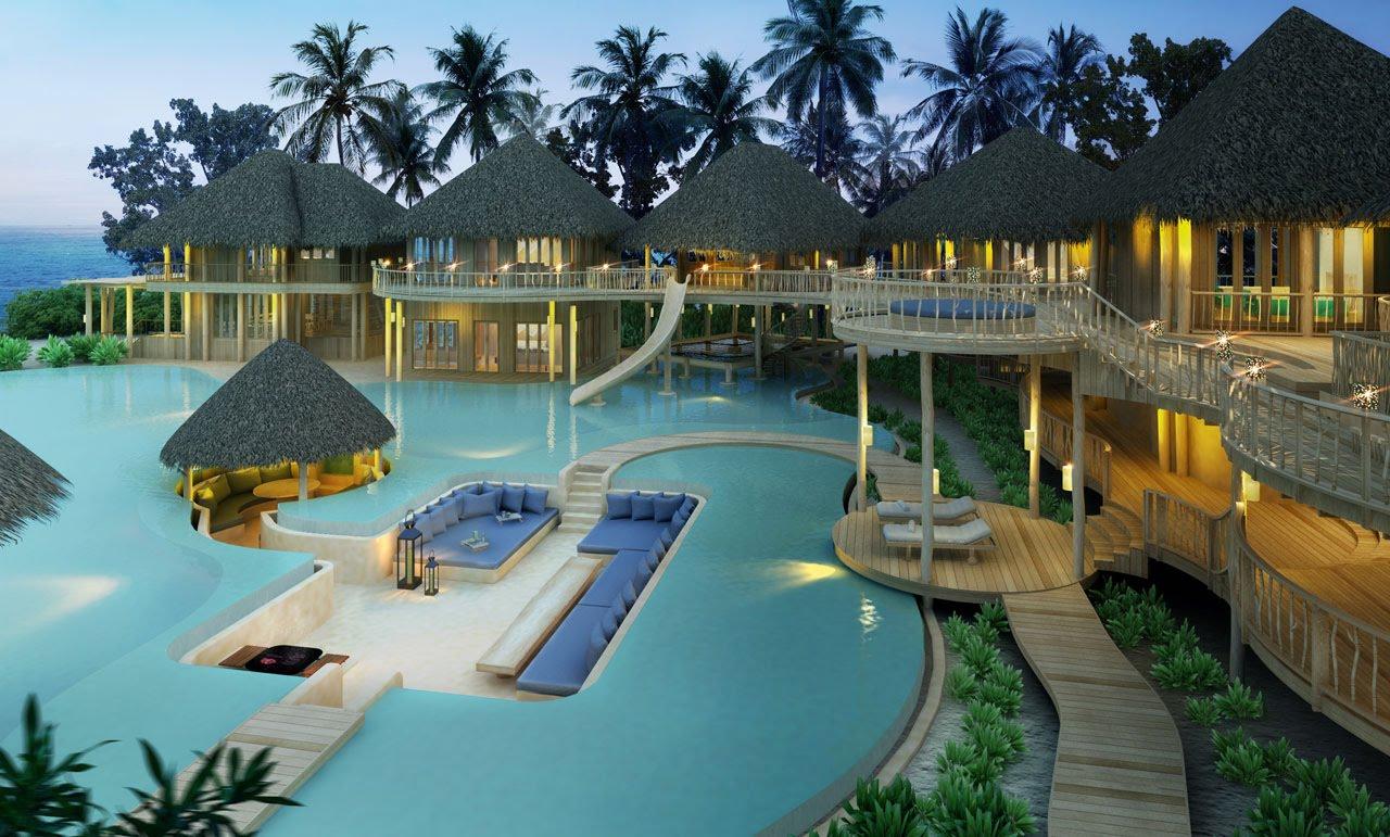Resort de luxo nas Maldivas contrata livreiro com acomodação inclusa