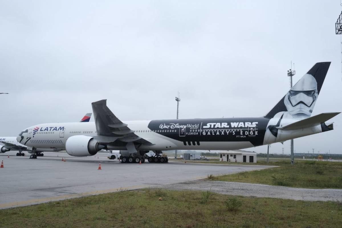 Latam lança avião inspirado na saga Star Wars